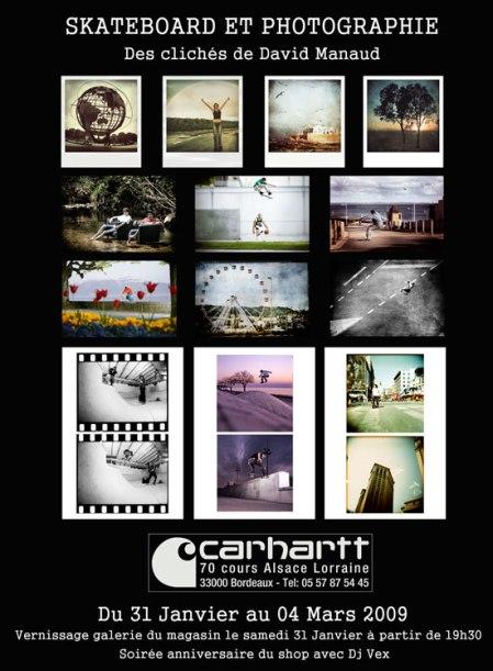 affiche-exposition-david-manaud-shop-carhartt-bordeaux