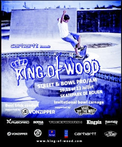 visuel king of wood 2009